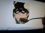 "From K.H. ""Kotetsu doesn't like my rice :((("""
