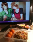 "From Meri. ""Friend rice for friends. :)  Seeya~~"""
