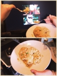 "From Kyyhky & Chibigaby. ""today we cooked fried rice and seasoned it with our own tears (wow so original--) BELIEVE IN FRIED RICE <3"""