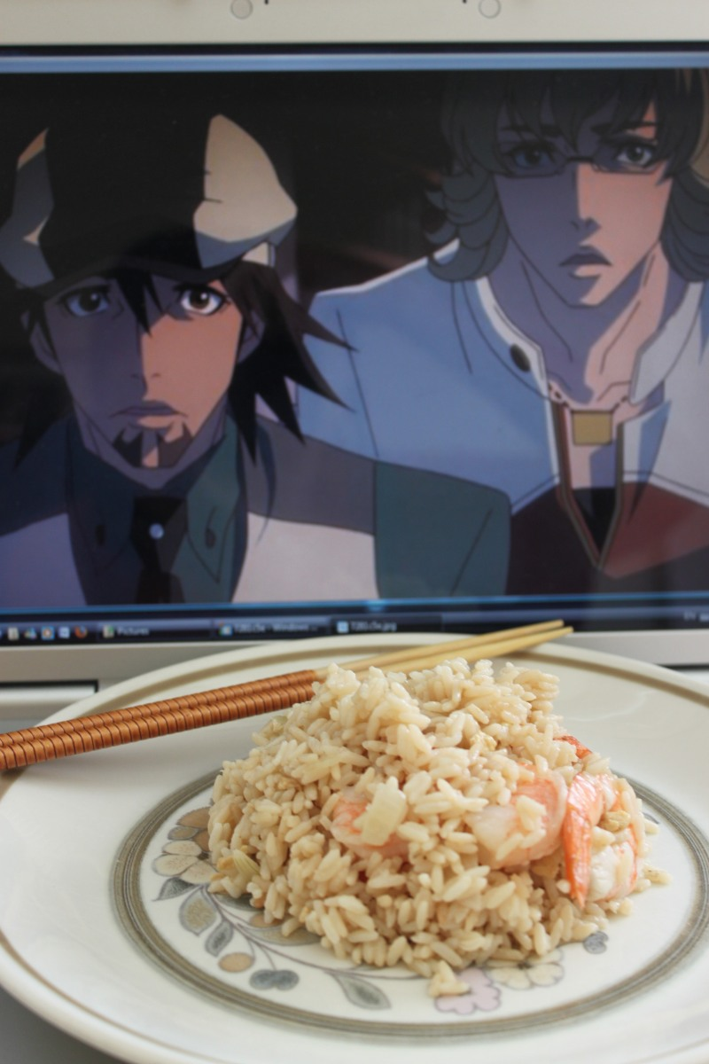 """From K.R. """"Is that.... yes, it's fried rice! Love from Québec, Canada"""""""