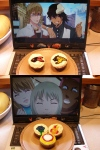 "From E.I. ""The other two photos are cupcakes with the theme of the characters shown."""
