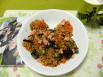 """From @tbyuzumoti. """"Standard articles...Tiger's fried rice.(^-^)"""""""