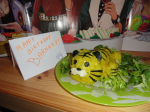 "From Aki_the_geek. ""Wild Tiger promised Barnaby himself on his B-day, so here's a lil' friend rice Tiger for Bunny! Happy Birthday, Bunny-chan!"""