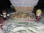 """From Mary. """"Having Friend Rice with Friends"""""""